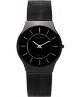 Buy Skagen Mens Black Klassik Mesh Watch online