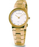 Buy Skagen Ladies Links White Gold Watch online