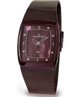 Buy Skagen Ladies Steel Brown Mesh Watch online