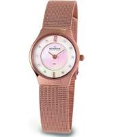 Buy Skagen Ladies White Rose Gold Klassik Mesh Watch online