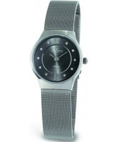 Buy Skagen Ladies Grey Titanium Klassik Mesh Watch online