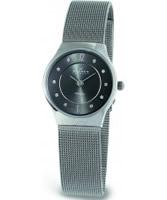 Buy Skagen Ladies Grey Titanium Klassik Mesh Watch online