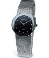 Buy Skagen Ladies Steel Black Mesh Watch online