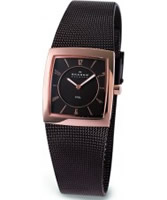 Buy Skagen Ladies Brown Rose Gold Watch online