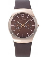 Buy Skagen Mens Swiss Brown Watch online