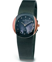 Buy Skagen Ladies Charcoal Gunmetal Klassik Mesh Watch online
