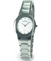 Buy Skagen Ladies Links White Steel Watch online