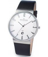Buy Skagen Mens White Black Watch online