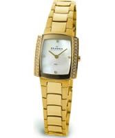 Buy Skagen Ladies Links Crystals Gold Glitz Watch online