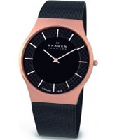 Buy Skagen Mens Titanium Carbon Fibre Watch online