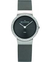 Buy Skagen Ladies Crystals Black Watch online