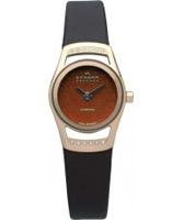Buy Skagen Ladies Diamonds Brown Watch online