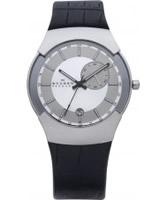Buy Skagen Mens Chrome Silver Watch online