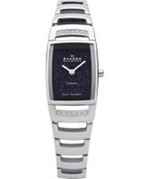 Buy Skagen Black Label Ladies Blue Gold Stone Silver Watch online