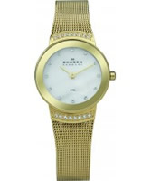 Buy Skagen Ladies Gold Klassik Steel Watch online