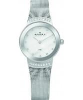 Buy Skagen Ladies Silver Klassik Steel Watch online