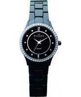 Buy Skagen Ladies Ceramic Black Watch online
