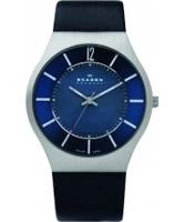 Buy Skagen Mens Steel Blue Solar Watch online