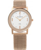 Buy Skagen Ladies Rose Gold Klassik Watch online