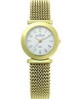 Buy Skagen Ladies Mesh Gold Watch online