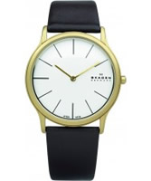 Buy Skagen Mens Brown Leather Watch online