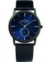 Buy Skagen Mens Blue Black Klassik Watch online