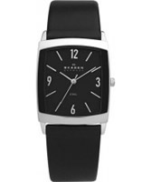 Buy Skagen Mens Black Klassik Watch online