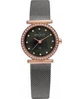 Buy Skagen Ladies Charcoal Rose Gold Watch online