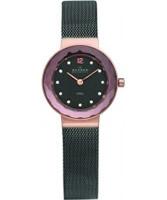 Buy Skagen Ladies Charcoal Rose Gold Klassik Watch online