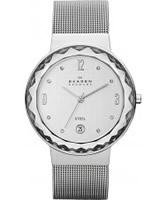 Buy Skagen Ladies Silver Klassik Mesh Watch online