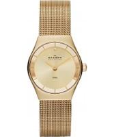 Buy Skagen Ladies Gold Klassik Mesh Watch online