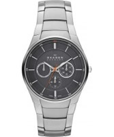 Buy Skagen Mens Grey and Silver Aktiv Multifunction Watch online