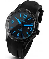 Buy Kennett Mens Altitude Black and Blue Sports Watch online