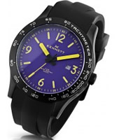 Buy Kennett Mens Altitude Purple and Yellow Sports Watch online