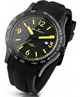 Buy Kennett Mens Altitude Yellow and Black Sports Watch online