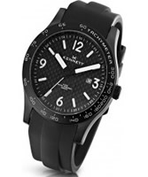 Buy Kennett Mens Altitude Carbon Black Sports Watch online