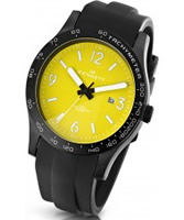 Buy Kennett Mens Altitude Yellow and White Sports Watch online