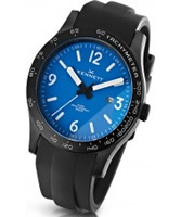 Buy Kennett Mens Altitude Blue and White Sports Watch online
