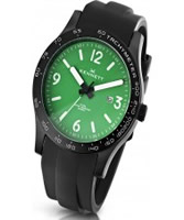 Buy Kennett Mens Altitude Green and White Black Sports Watch online