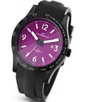 Buy Kennett Mens Altitude Purple and White Sports Watch online
