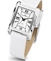 Buy Kennett Ladies Classic Elie White Leather Strap Watch online