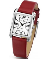 Buy Kennett Ladies Classic Elie Red Leather Strap Watch online