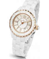 Buy Kennett Ladies Classic White Ceramic Bracelet Watch online
