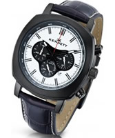 Buy Kennett Mens Challenger Black Chronograph Watch online
