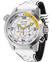 Buy Sector Mens Oversize Chronograph White and Black Watch online