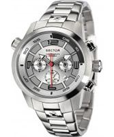Buy Sector Mens Oversize Chronograph Steel Bracelet Watch online