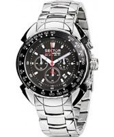 Buy Sector Mens Shark Master Chronograph Steel Watch online