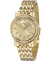 Buy Just Cavalli Ladies Gold Moon Watch online