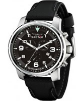 Buy Sector Mens Black Eagle Chronograph Watch online