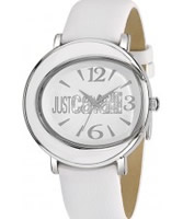 Buy Just Cavalli Ladies All White Lac Watch online